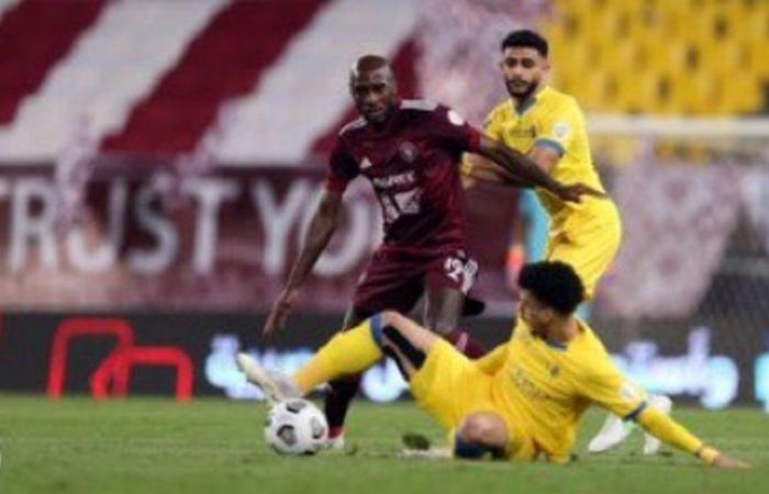 """مباراة دراماتيكية : """"النصر"""" ينجو من مطب """"الفيصلي"""" ويحقق النقاط الثلاث"""