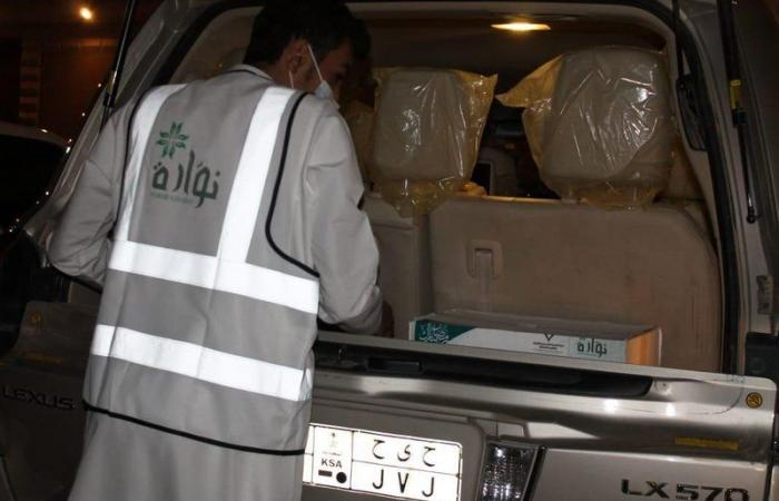 """""""ورود نوارة"""" يوزع 400 سلة غذائية و2.5 طن تمور على الأسر المحتاجة"""