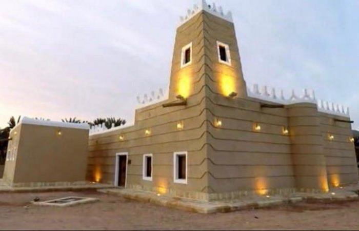 من مشروع ولي العهد لتطوير المساجد التاريخية.. مسجد أبي بكر الصديق في نجران