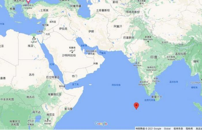 """عبر السعودية وسقط.. """"المسند"""" يتحدث عن """"مثوى صاروخ الصين الأخير"""""""