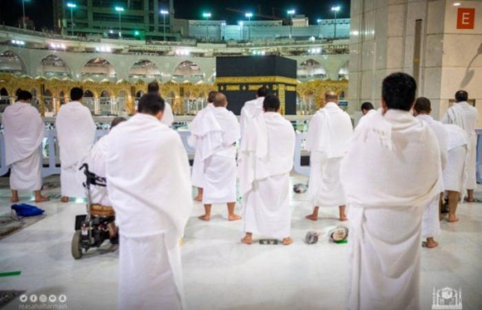 إدارة الحشود تعلن نجاح خطط التفويج في بيت الله الحرام ليلة 27 رمضان