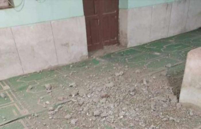 مصر.. شاهد نجاة مصلين من كارثة أثناء صلاة التراويح