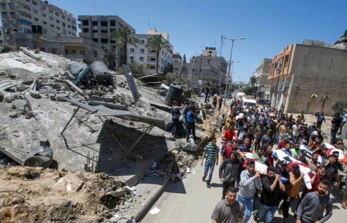ارتفاع حصيلة العدوان الإسرائيلي على الفلسطينيين إلى 202 شهيد