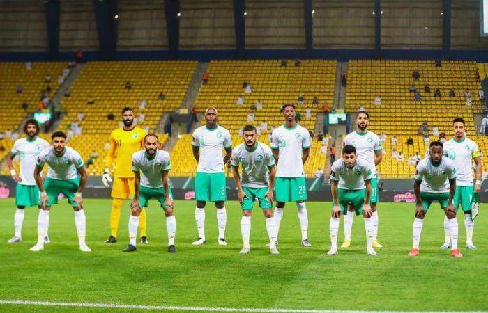 """أثناء توقف الدوري.. """"الأخضر"""" السعودي يشارك بـ""""الأساسي """" في كأس العرب"""