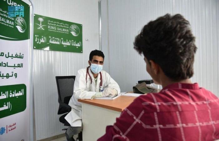بالصور والبيانات.. المستفيدون من خدمات العيادات الطبية المتنقلة في حرض خلال شهر