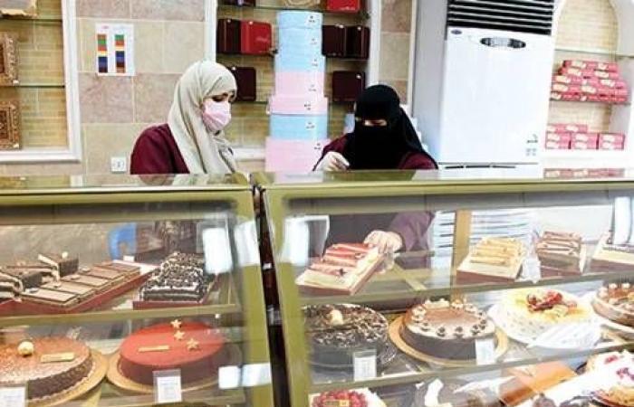 سعوديات يقتحمن سوق الحلويات