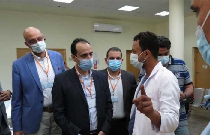 الرعاية الصحية: توفير حزم الخدمات الطبية والعلاجية المستحدثة للمرضى بمختلف التخصصات بالمستشفيات المطورة