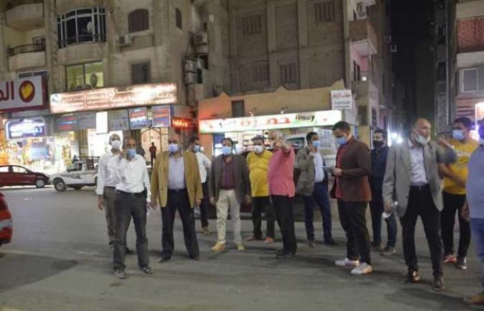 محافظ الجيزة يتفقد مسارات العمل بالمحور المروري الموازي لشارع الهرم