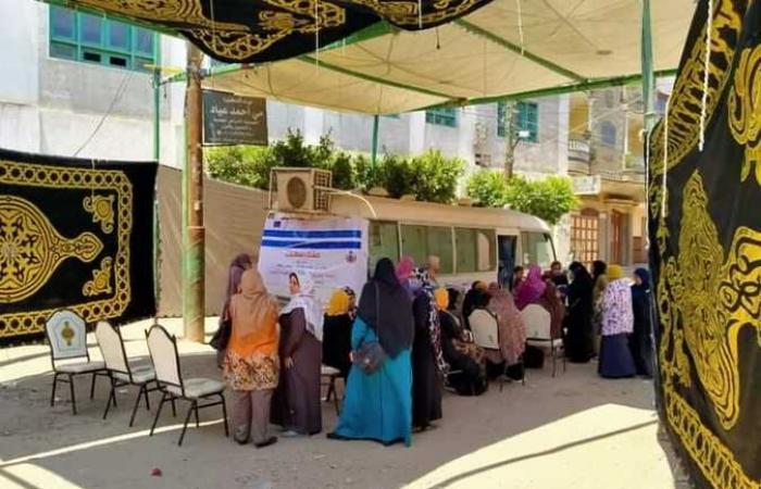 انطلاق فعاليات حملة تنظيم الأسرة «حقك تنظمي» في قرى دسوق (صور)
