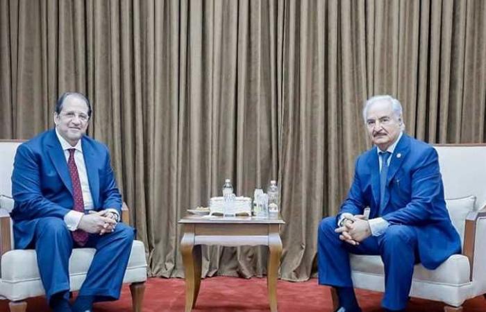 خليفة حفتر: لن ننسى للرئيس السيسي مواقفه الداعمة لوحدة ليبيا
