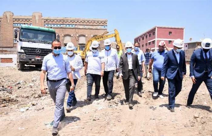 محافظ الغربية يشهد بدء أعمال الحفر بمشروع إنشاء فندق الشانزليزيه بطنطا