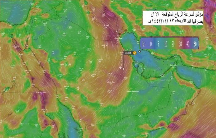 """""""الحصيني"""" يتوقع هطول أمطار ورياح قوية على مرتفعات هذه المناطق"""