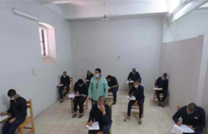 الداخلية تعقد لجان امتحانات لنزلاء السجون على مستوى الجمهورية