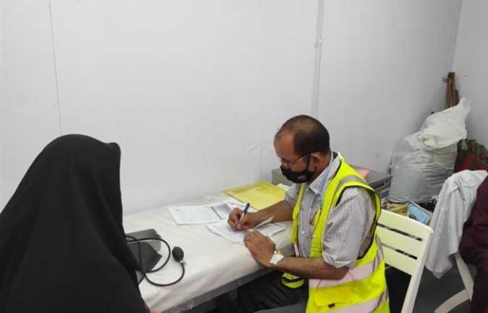 «اكشف وإطمن» للكشف المجاني على المواطنين تبدأ عملها في مركز إدفو