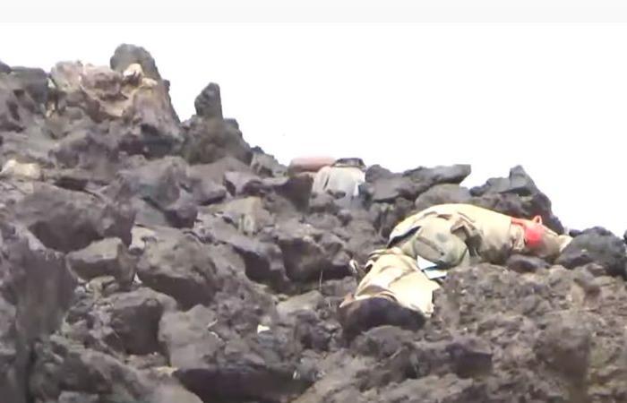 شاهد.. كاميرا حوثية توثق مقتل جميع عناصرها في جبهات مأرب