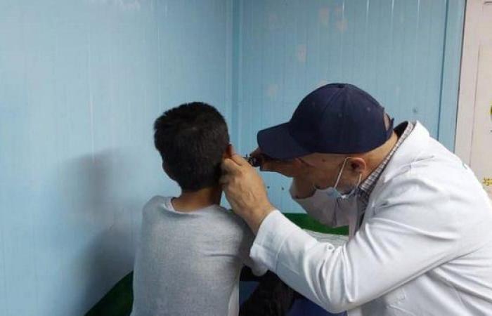 """عيادات """"إغاثي الملك سلمان"""" تقدم خدماتها لـ570 لاجئًا سوريًا في مخيم الزعتري"""