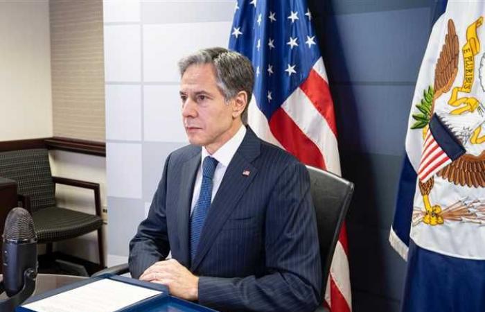 بلينكن: نريد ليبيا مستقرة بعيدًا عن التدخل الخارجي