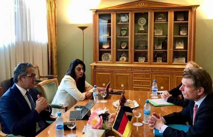 مفوض الحكومة الفيدرالية للسياحة بألمانيا لـ«العناني»: موكب المومياوات الملكيةشجع الألمان على زيارة مصر
