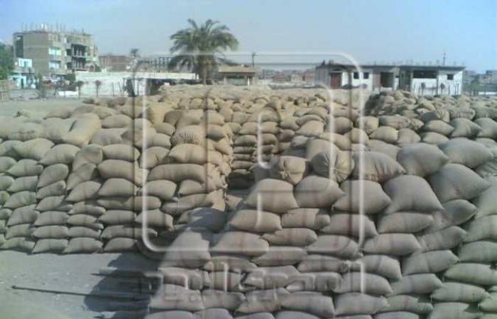 ضبط 5 أطنان قمح قبل التصرف به في كفر الشيخ