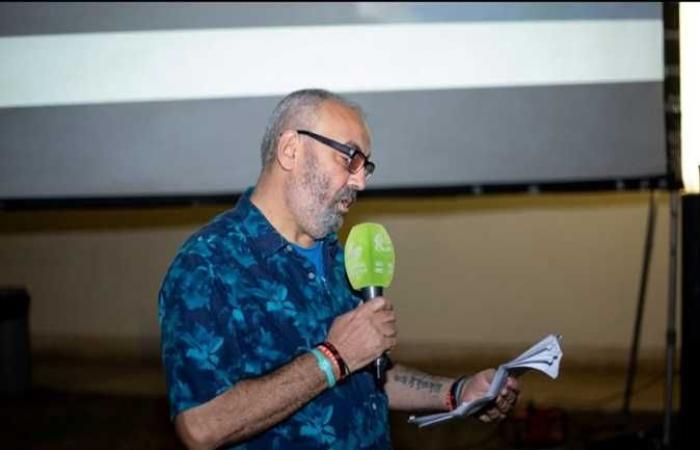 خالد الحجر يقدم حفل افتتاح أسبوع أفلام معهد جوته