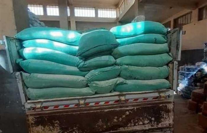 ضبط 2.2 طن دقيق مدعم بمخبز في كفر الشيخ قبل بيعه بالسوق السوداء