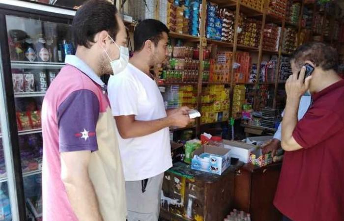 إعدام أغذية منتهية الصلاحية بمدينة نخل بوسط سيناء