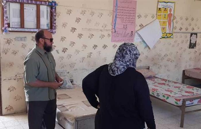 تجهيز استراحات ملاحظين لجان الثانوية العامة في شمال سيناء