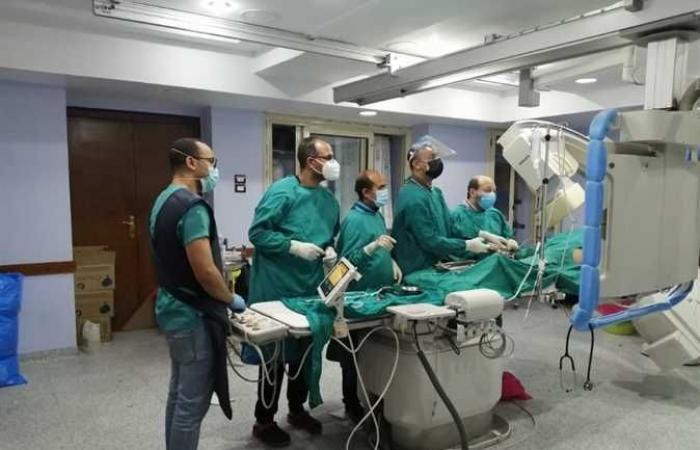 وصول فريق طبي من معهد القلب إلى مستشفى العريش العام
