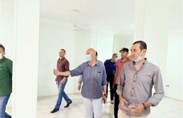 «صحة الشرقية» تعاين أحد المباني المتبرع بها في قرية سنهوت لنقل خدمات الرعاية الأولية
