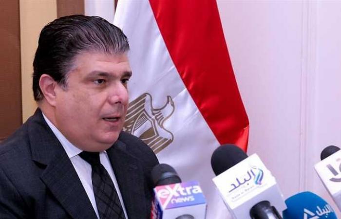حسين زين يهنئ الإعلاميين بمناسبة عيد التليفزيون المصري الـ61