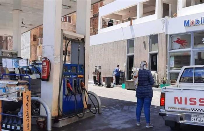 حملات تموينية على المخابز البلدية ومحطات الوقود في العيد بالإسكندرية (صور)