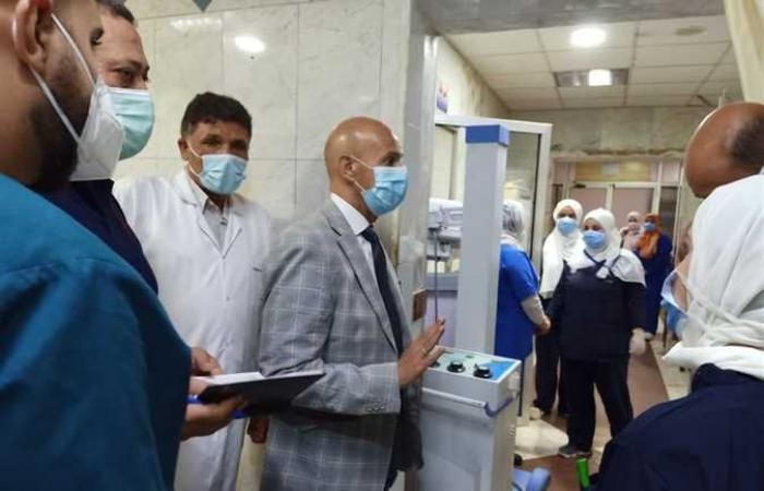 وكيل «صحة الشرقية» يتفقد سير العمل بمستشفى أبوحماد المركزي