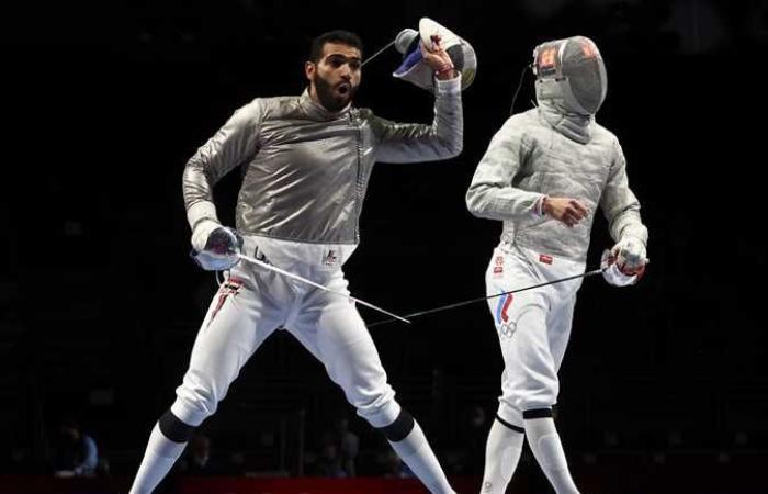 زياد السيسي يودع الأولمبياد رسميًا بعد هزيمته من بطل جورجيا