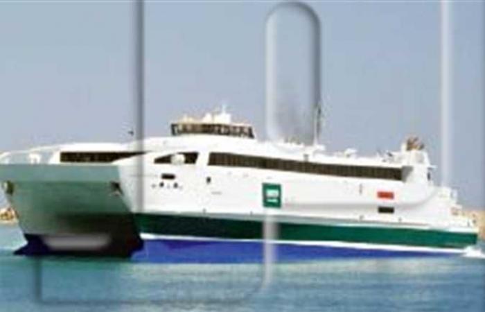 استئناف الحركة الملاحية لعبارات الركاب بين ميناءي سفاجا وضبا السعودي