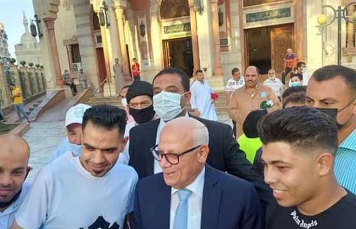 محافظ بورسعيد يشيد بجهود الأجهزة التنفيذية والأمنية خلال عيد الأضحى المبارك
