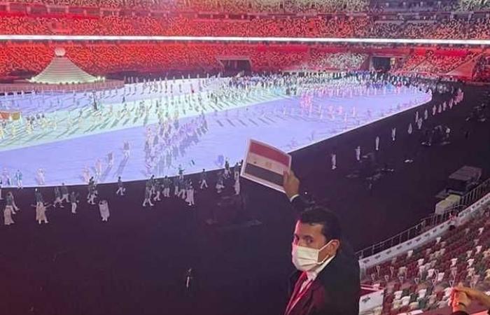 وزير الرياضة يلتقي رئيس اللجنة الأولمبية اليابانية لبحث التعاون المشترك