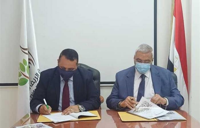 «الريف المصري» توقع بروتوكول تعاون مع «التخطيط العمراني» لرفع كفاءة ري مشروع 1.5 مليون فدان