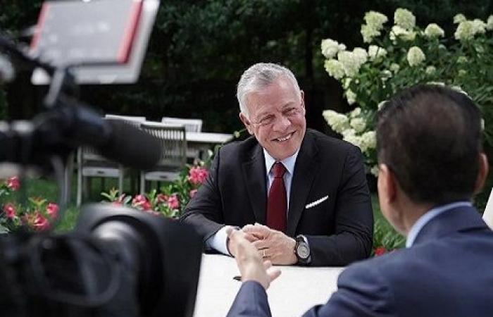 الملك : الحديث الإسرائيلي عن دولة فلسطينية في الأردن كلام فارغ
