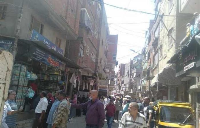 حملة مكبرة لإزالة الإشغالات بمدينة كفر الشيخ