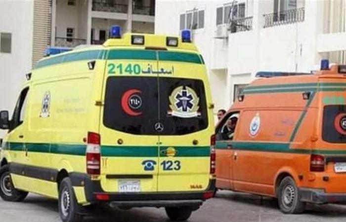 مصرع شخص وإصابة 6 في حادث تصادم بالوادي الجديد