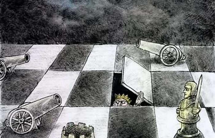 العالم يسخر ويفكر.. «كاريكاتير»