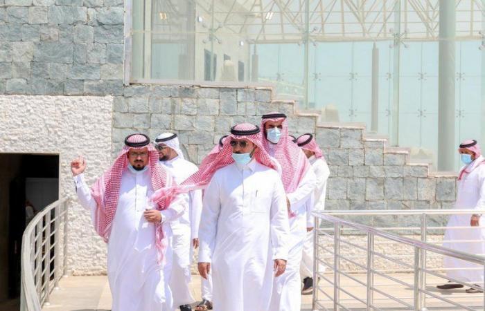 """شاهد.. """"مسرح مراوة"""" بالباحة الأكبر والأجمل من نوعه في السعودية"""