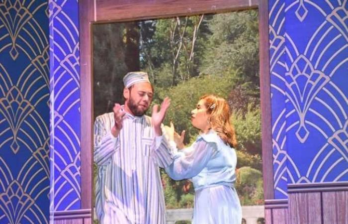 وزيرة الثقافة تشهد ليلتكم سعيدة بالمسرح القومي (صور)