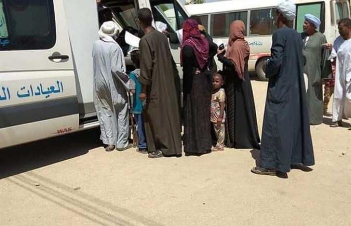 الكشف على 1078 مواطنًا بالقافلة الطبية بمركز قوص