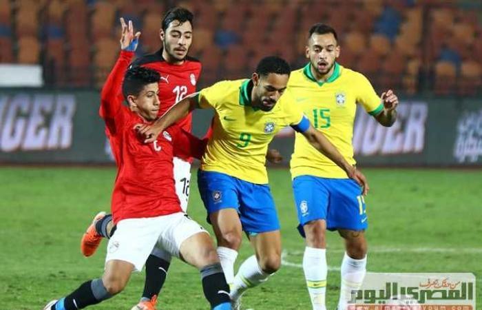 مصر والبرازيل الاولمبي مباشر الان فى اولمبياد طوكيو 202