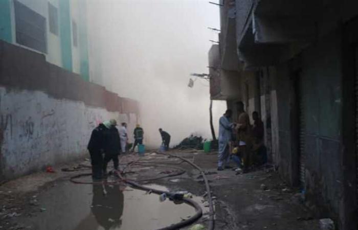 محافظ القاهرة: السيطرة على حريق عزبة خير الله دون خسائر في الأرواح