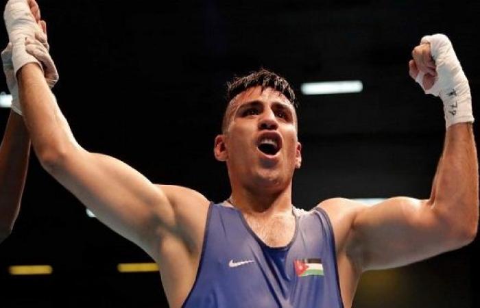 الملاكم الاردني عشيش ينهي مشواره في أولمبياد طوكيو 2021