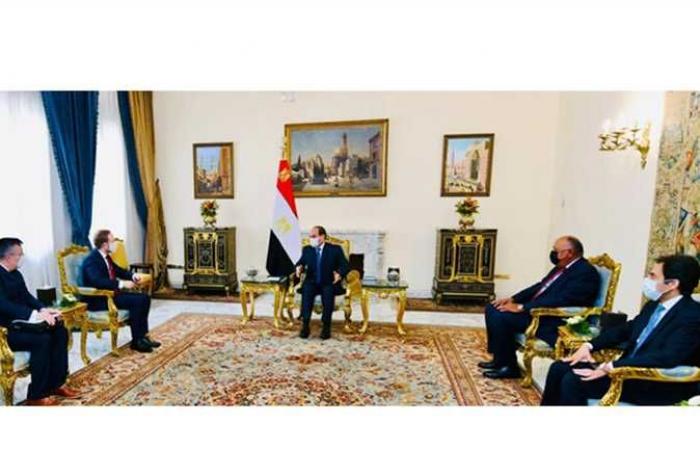 السيسي يعرب عن اهتمام مصر بتطوير التعاون مع التشيك في إطار تجمع دول فيشجراد