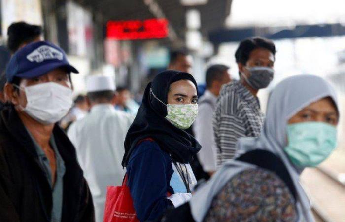 إندونيسيا تسجل 37284 إصابة و1808 وفيات بكورونا