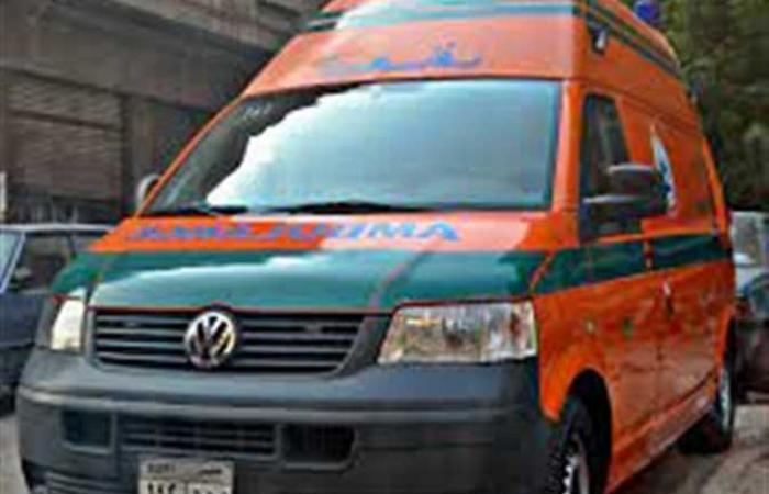 إصابة 3 أشخاص في انقلاب سيارة ميكروباص بالصحراوي الغربي بقنا